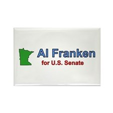 Al Franken Senate Rectangle Magnet
