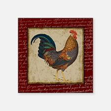 Red Rooster vintage Sticker