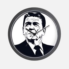 Strk3 Ronald Reagan Wall Clock