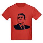 Strk3 Ronald Reagan Kids Dark T-Shirt