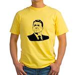 Strk3 Ronald Reagan Yellow T-Shirt