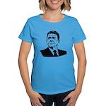 Strk3 Ronald Reagan Women's Dark T-Shirt