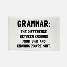 Grammar Shit Magnets
