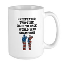 America, The Unstoppable Force Mugs