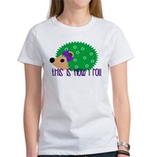 Love Hedgehogs How I Roll T-Shirt