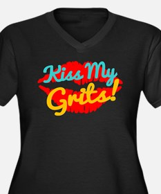 Kiss My Grits! Plus Size T-Shirt