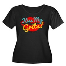 Kiss My Grits! Plus Size T-Shirt