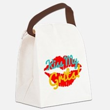 Kiss My Grits! Canvas Lunch Bag