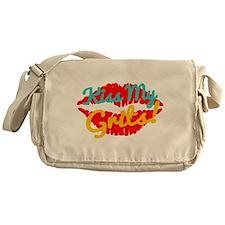 Kiss My Grits! Messenger Bag