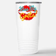 Kiss My Grits! Travel Mug