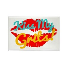 Kiss My Grits! Magnets