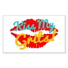 Kiss My Grits! Decal