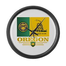 Oregon DTOM Large Wall Clock