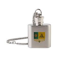 Oregon DTOM Flask Necklace