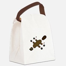 Platypus Diagram Canvas Lunch Bag