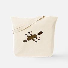 Platypus Diagram Tote Bag