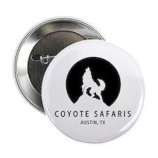 """Coyote Safaris 2.25"""" Button"""