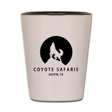 Coyote Safaris Shot Glass