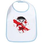 Blood Skull Bib