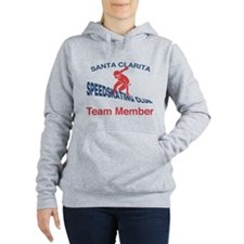 Funny Team speed Women's Hooded Sweatshirt