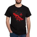 Blood Skull Dark T-Shirt