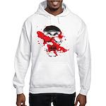 Blood Skull Hooded Sweatshirt