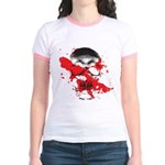 Blood Skull Jr. Ringer T-Shirt