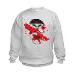 Blood Skull Kids Sweatshirt