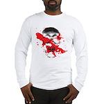 Blood Skull Long Sleeve T-Shirt