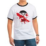 Blood Skull Ringer T