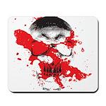 Blood Skull Mousepad