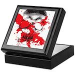 Blood Skull Keepsake Box