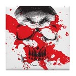 Blood Skull Tile Coaster