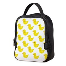 Yellow and White Rubber Duck, Ducky Neoprene Lunch