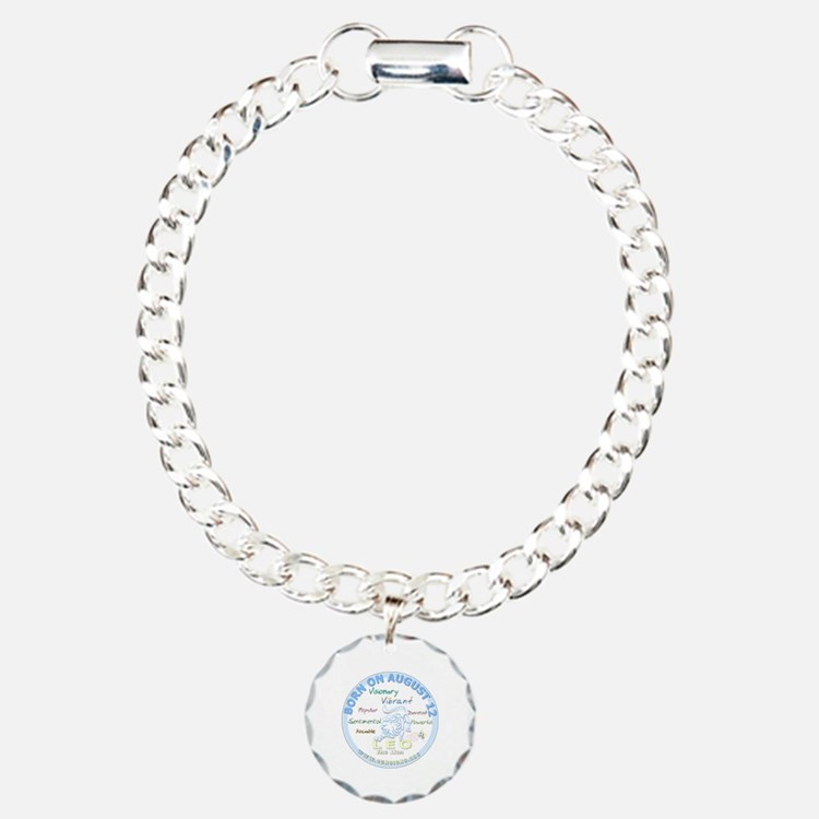 August 12th Birthday - L Bracelet