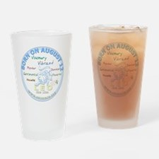 August 12th Birthday - Leo Personal Drinking Glass