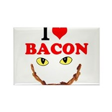 I Love Bacon Magnets