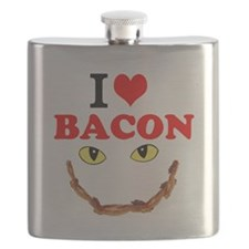 I Love Bacon Flask