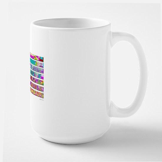 Radio Frequency Spectrum Large Mug