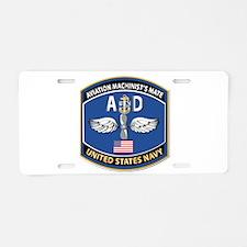 Aviation Machinist's Mate - Aluminum License Plate