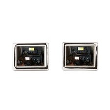 Ham Radio Station Rectangular Cufflinks