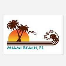 Miami Beach FL Postcards (Package of 8)