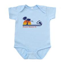 Miami Beach FL Infant Bodysuit
