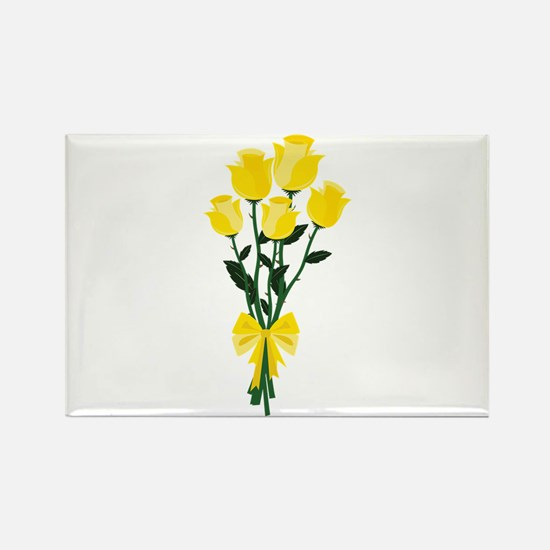 Yellow Roses Magnets