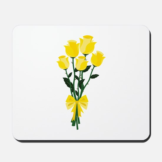 Yellow Roses Mousepad