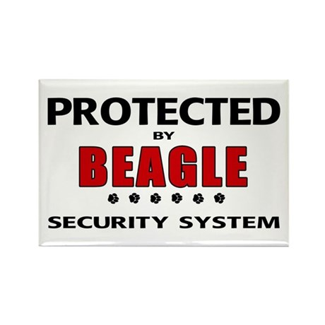 Beagle Security Rectangle Magnet