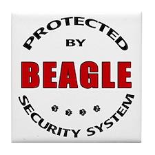 Beagle Security Tile Coaster