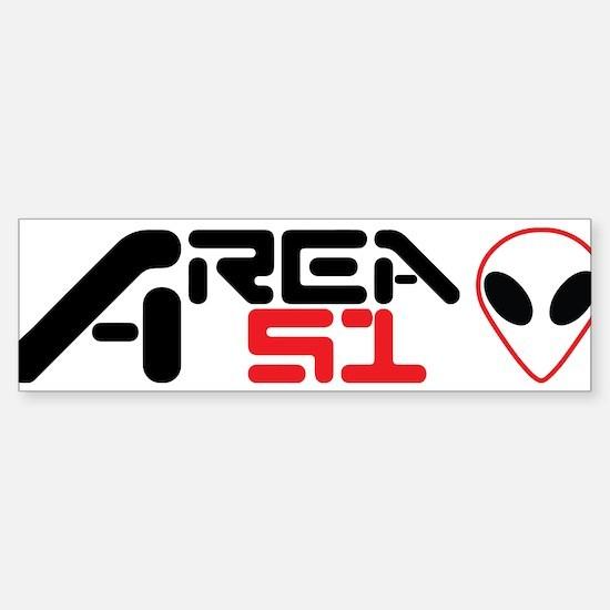 AREA 51 Sticker (Bumper)