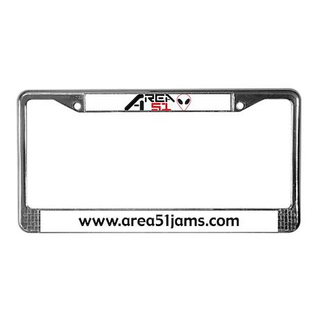 AREA 51 License Plate Frame