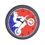 Peewee Dirt Bike Wall Clock